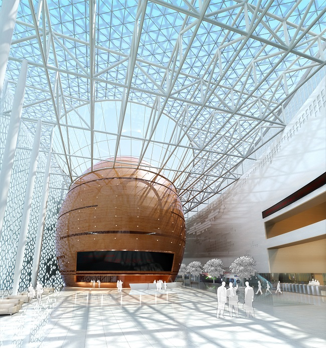 上海设计师楼近期效果图设计案例