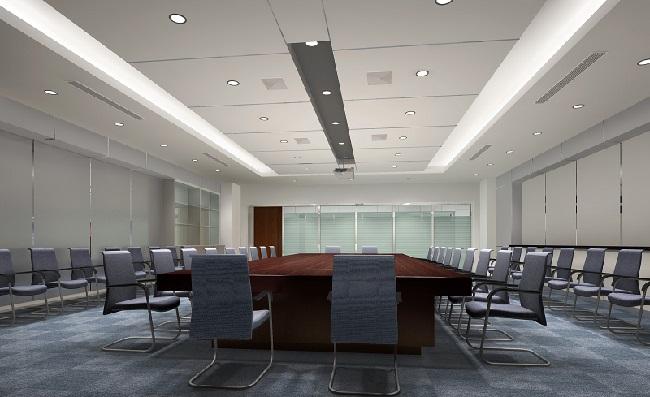 2018最新Office办公室效果图设计案例