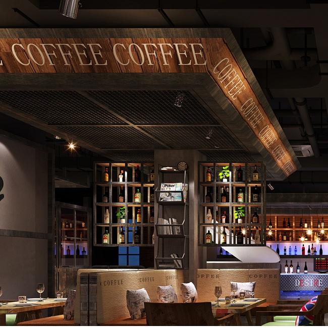 """上海设计师:宝山""""Desire""""咖啡餐吧设计案例(上海)"""