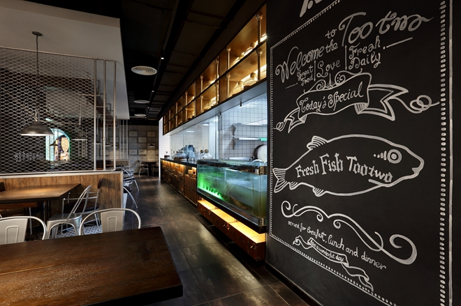 """海口""""太二酸菜鱼""""主题餐厅设计"""