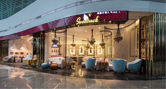 """""""SweetRuck""""韩国冰淇淋甜品店设计(上海)"""