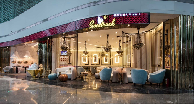 """SweetRuck""冰淇淋甜品店设计(中国)"