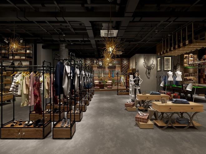 """""""Fashion_Brand""""服装专卖店设计作品"""