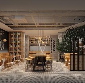 """""""懒面馆""""创意休闲餐厅设计(上海)"""