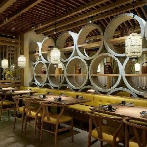 """上海设计师:""""徽语""""现代徽菜餐厅创意设计"""