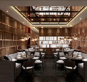 """上海设计师:浦东尚悦湾""""荟廷""""创意餐厅设计"""